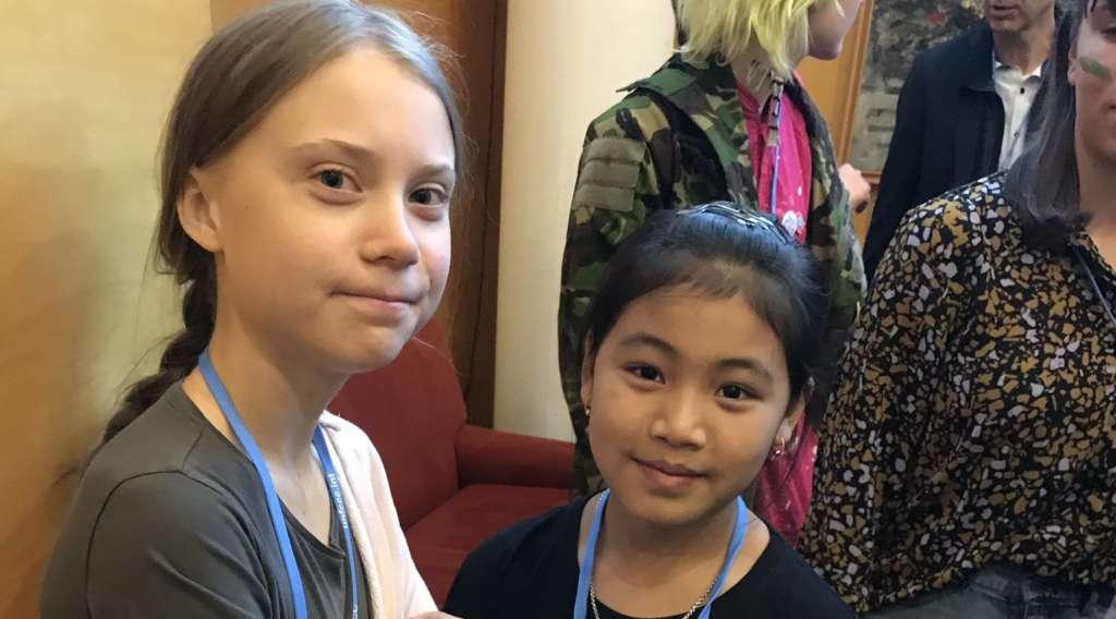 Greta Thunberg and Licypriya
